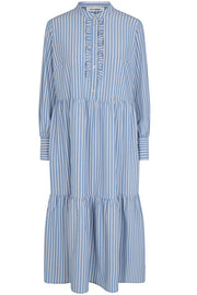 Pretoria Stripe Dress | Pale Blue | Kjole fra Cocouture