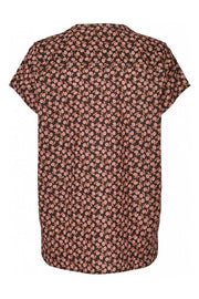 Heather Top | 74 Flower Print | Bluse fra Lollys Laundry