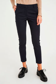 Kylie 396 Crop Pant | Midnight | Bukser fra Five Units