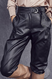 Miles Pleat Pant | Black | Bukser fra Co'couture