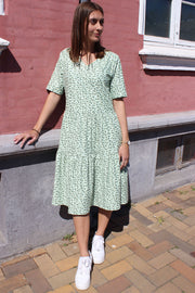 Alma Short Loose Dress | Mint Leo | Kjole fra Liberté Essentiel