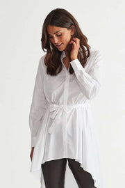 Edda Shirt | Brilliant White | Skjorte fra Freequent