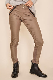 Milton Night Pant Sustainable | Chocolate Chip | Bukser fra Mos Mosh