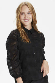 Sharon Shirt | Sort | Skjorte fra Culture