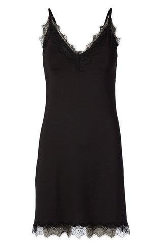 Underkjole - Strap Dress (Black)