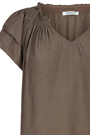Sunrise Top | Walnut | Bluse fra Co'couture