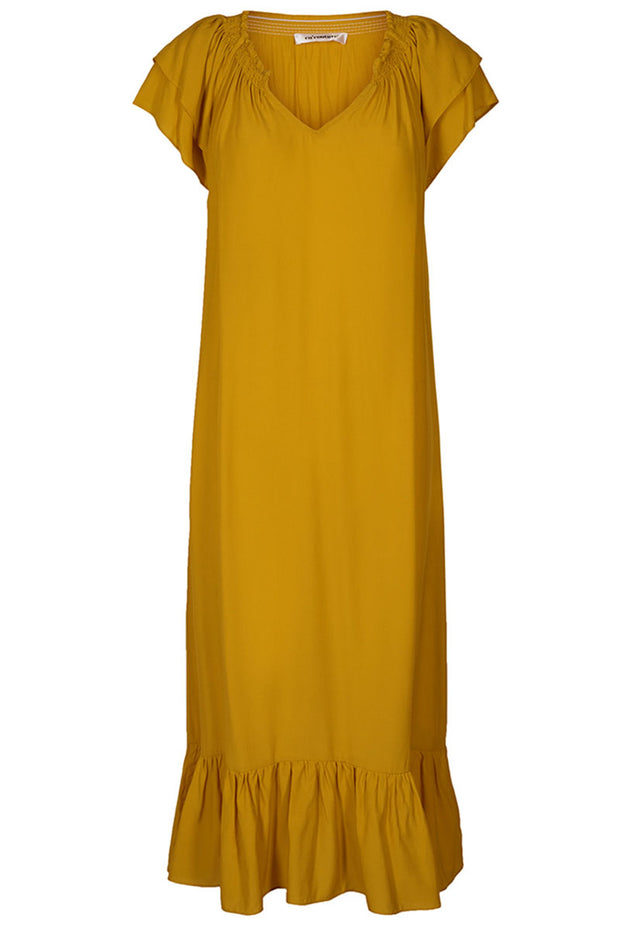 Sunrise Dress | Mustard | Kjole fra Co'couture