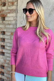 Soul O-Neck | Candyfloss | Sweater fra Co'couture
