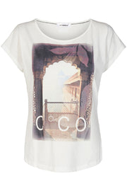 View Tee | Off white | T-shirt fra Co'Couture