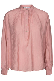 Pauline Stripe Shirt | Nude rose | Skjorte med striber fra Co'Couture