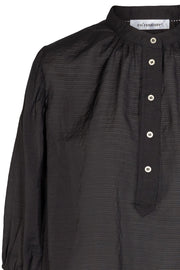 Pauline Summer Shirt | Black | Skjorte fra Co'couture