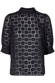 Oneil Blouse | Black | Bluse fra Co'couture