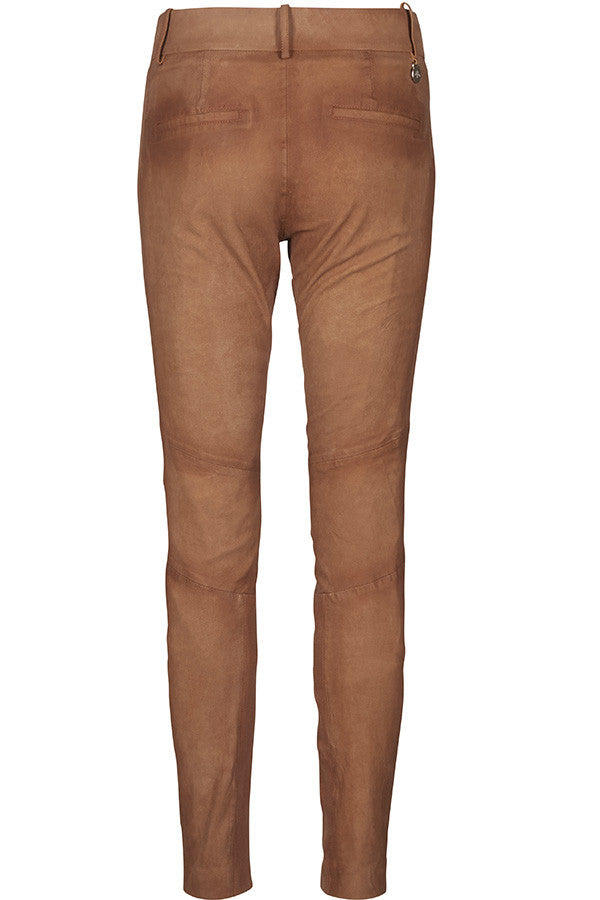 Mos Mosh - Blake Leather Pant (KUN STR. 40)