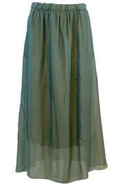 Maxi skirt | Olive | Nederdel fra Black Colour