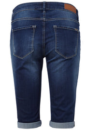 Amie-Sho-Denim | Medium Blue Denim | Shorts fra Freequent