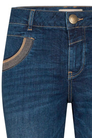 Naomi Shade Blue Jeans | Blue | Jeans fra Mos Mosh