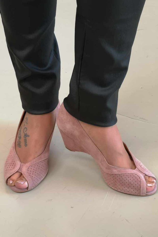 TIFFANY SS19 | Rosa | Peep-toe pumps fra Anonymous Cph