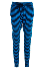 Beds are burning | Electric Blue Stripe | Bukser fra Comfy Copenhagen