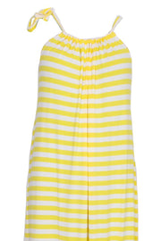 Better Now | Yellow Stripe | Lang kjole fra COMFY COPENHAGEN