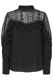Kate Blouse | Black | Blouse fra Copenhagen Muse