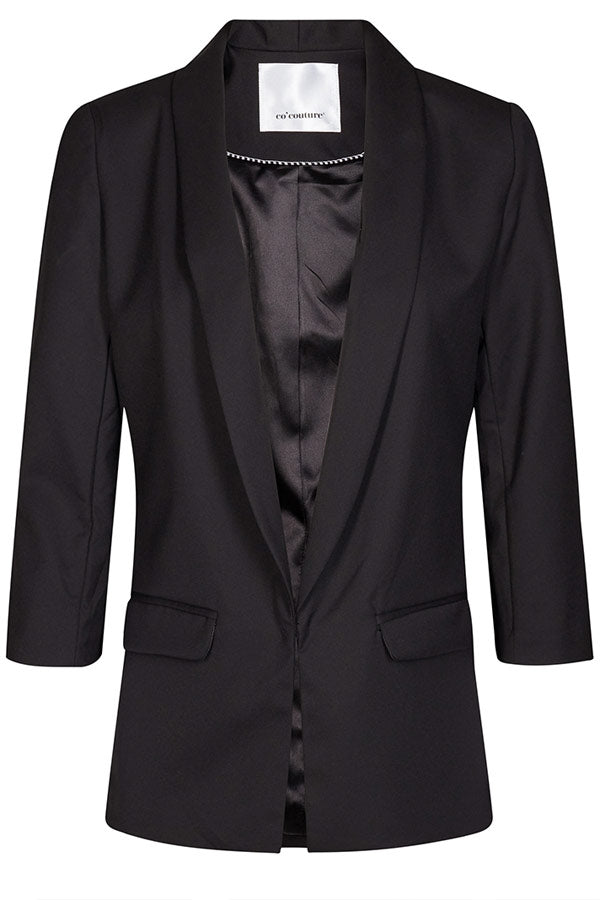 ANDREA BLAZER JACKET | Sort | Blazer jakke fra CO'COUTURE