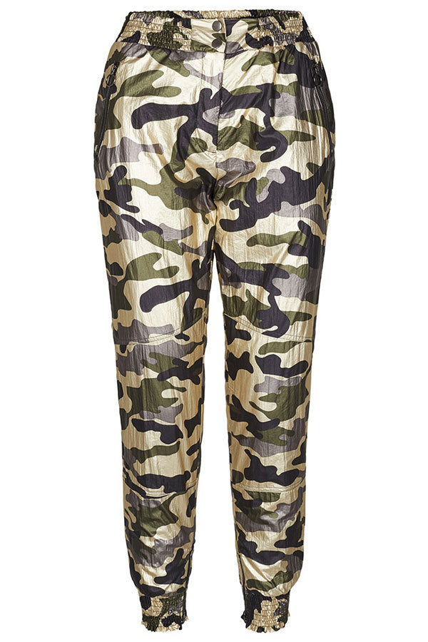 APOLLO CAMOU PANT | New army | Camouflage bukser fra CO'COUTURE