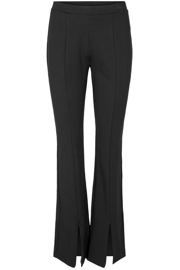 Costa Split Legging | Sort | Leggings med vige ben fra Co'Couture