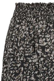 Cramps Smock Skirt | Sort | Nederdel med print fra Co'Couture