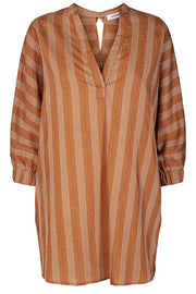 Martina tunic shirt | Suntan | Oversize skjorte fra Co'couture