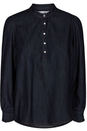 New Denimita Shirt | Mørkeblå | Skjorte i denim fra Co'Couture