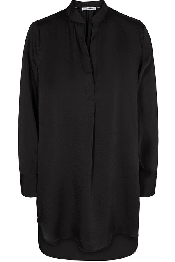 Iolana Tunic Shirt | Sort | Tunika skjorte fra Co'couture