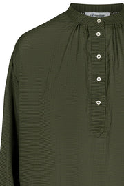 Pauline Shirt | Dark army | Skjorte fra Co'Couture