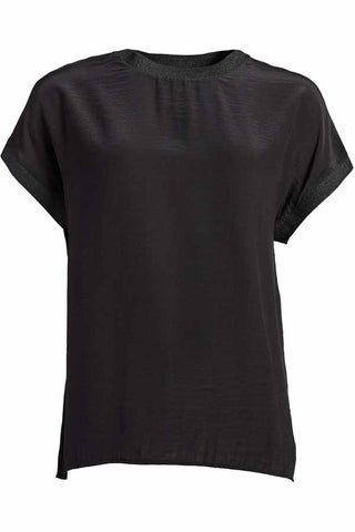 NEW NORMA TOP S/S Shirt | SORT | T-shirt fra CO'COUTURE