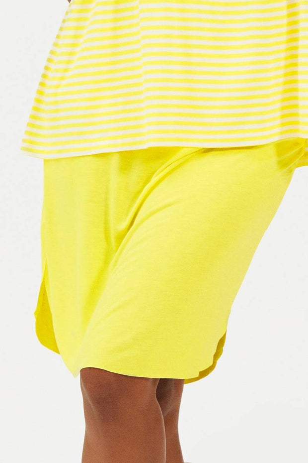 Come along | Yellow | Nederdel fra Comfy Copenhagen