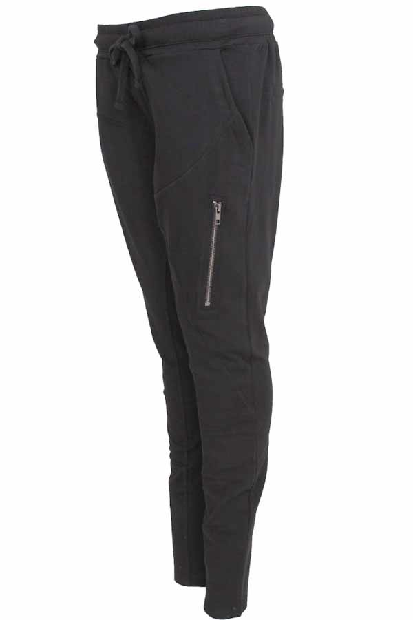 Beds Are Burning | Black Vertical Zipper | Bukser  fra Comfy Copenhagen