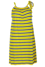 Smoke on the water | Yellow stripe | Sommerkjole fra Comfy Copenhagen