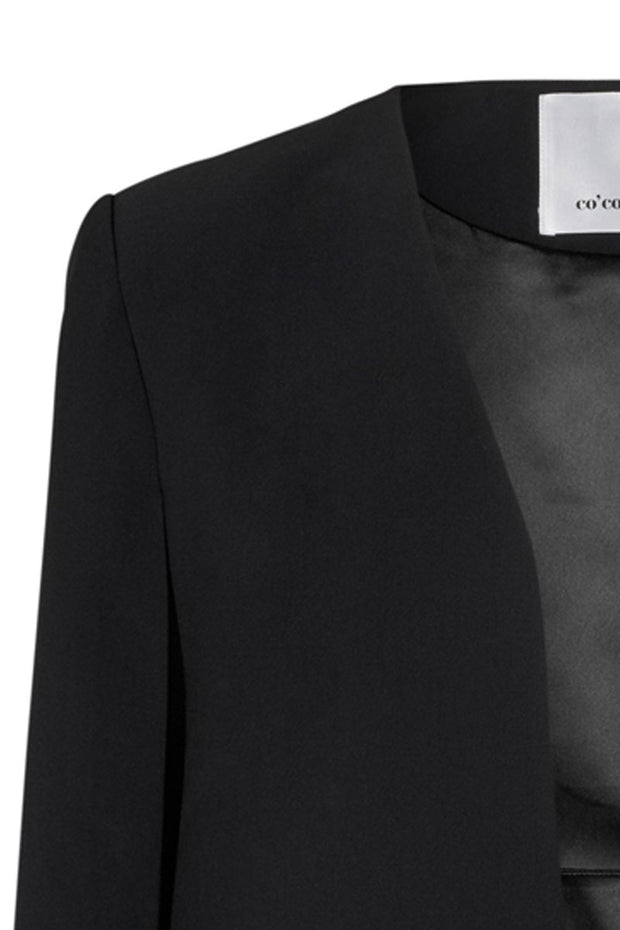 Carrie Cape Blazer | Sort | Kappe blazer fra Co'Couture