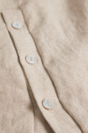 CUparvin Long Shirt | Warm Sand | Lang skjorte fra CULTURE