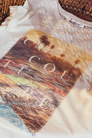 Goa Tee | Off white | T-shirt fra Co'Couture
