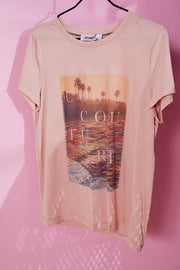 Goa Tee | Nude Rose | T-shirt fra Co'Couture