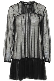 Emm Mesh Dress | Sort | Mesh kjole fra Emm Copenhagen