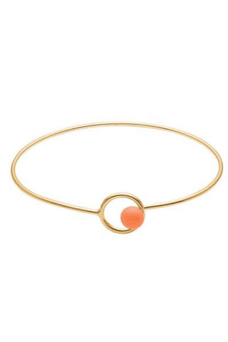 COLOR LOCK BANGLE | Clementine | Armbånd fra ENAMEL