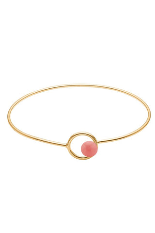 COLOR LOCK BANGLE | Flamingo | Armbånd fra ENAMEL