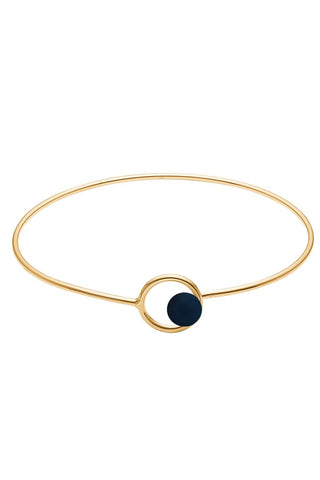 COLOR LOCK BANGLE | Midnight | Armbånd fra ENAMEL