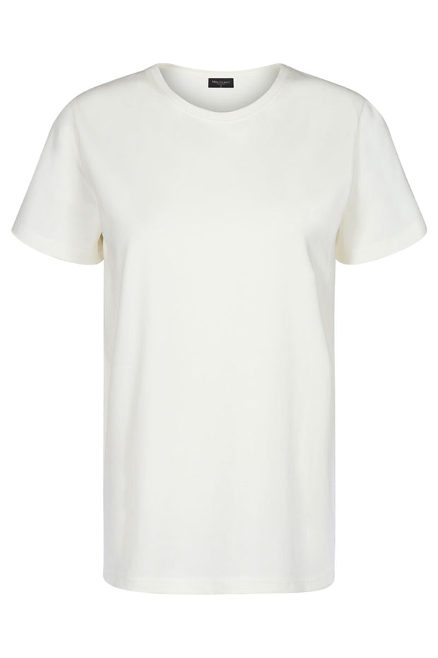 Fenja Tee Sustain | Offwhite | T-shirt fra Freequent