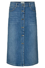 Rock Skirt | Vintage blue denim | Denim nederdel fra Freequent