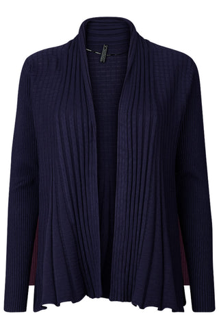 CLAUDISSE-S-CAR | Navy | Kort cardigan fra FREEQUENT