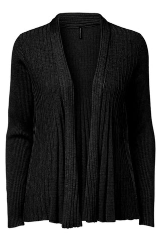 CLAUDISSE-S-CAR | Sort | Kort cardigan fra FREEQUENT