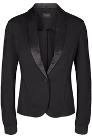 Nanni Jacket Shine | Sort | Blazer fra Freequent