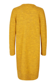 Mozon-Car | Golden Yellow Melange | Cardigan fra Freequent
